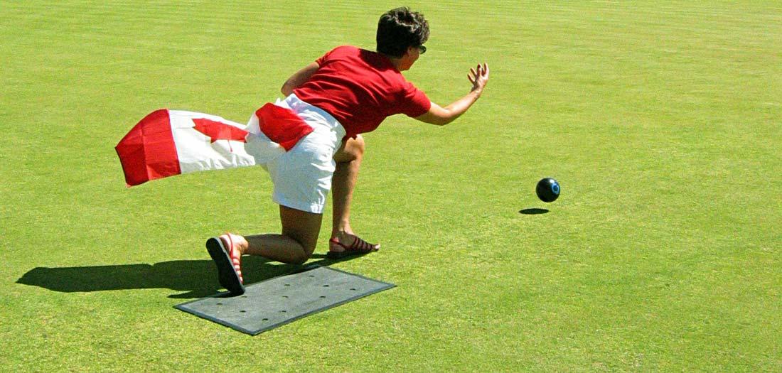 Canada Day Lawn Bowling